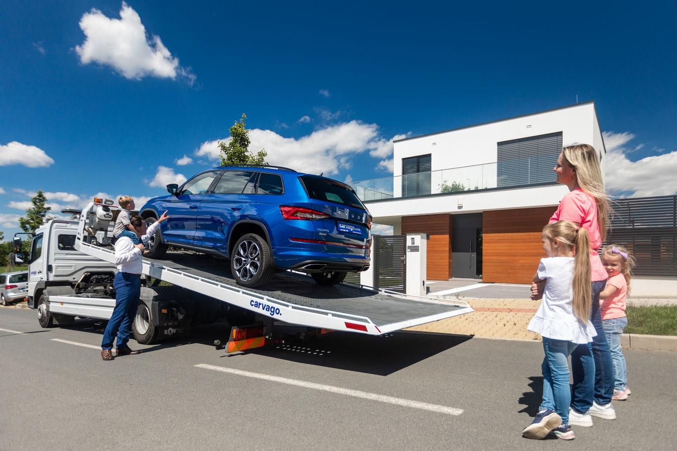 Autotržiště Carvago je největší v Evropě. Umožňuje nákup ojetiny online s doručením auta až domů
